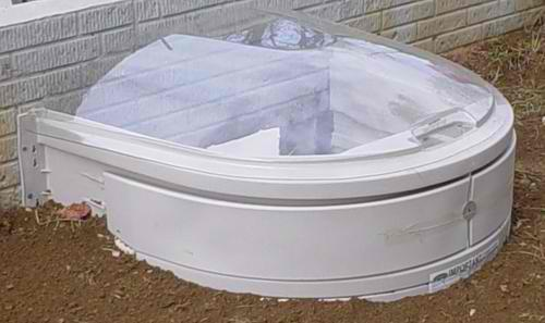 Concrete Well Lids For Wells : Woodards precast concrete products stakwel window well