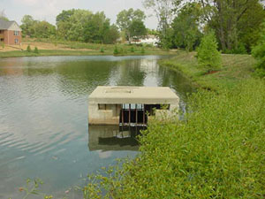 Woodards Precast Concrete Products Storm Pond Outlets