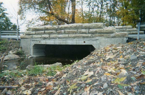 Precast Concrete Wingwalls : Woodards precast concrete products bridge box culvert