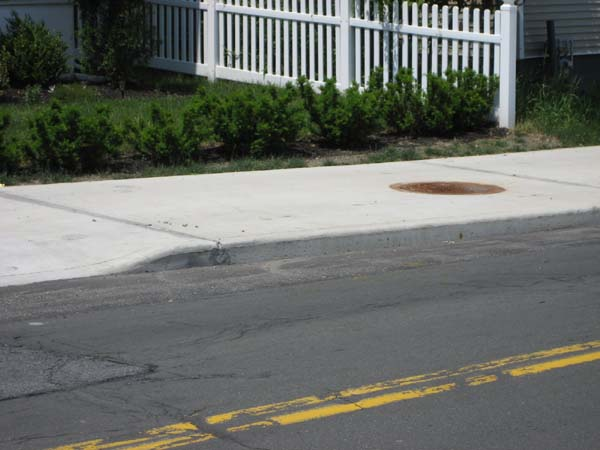 Prestressed Concrete Sidewalks : Woodards precast concrete products custom bullville ny